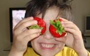 Erdbeeraugen